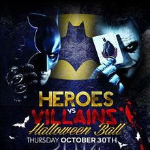 Heroes vs. Villains: A Grand Halloween Affair