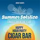 Summer Solstice HAPPY HOUR PARTY at CIGAR BAR