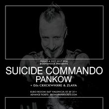 SUICIDE COMMANDO and PANKOW in SF