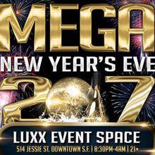 Mega New Year's Eve 2017