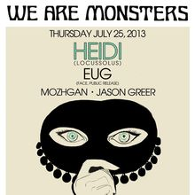 We Are Monsters: Heidi Lawden & Eug