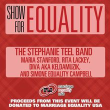 Show for Equality: The Stephanie Teel Band