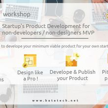 Startup's Product Development for non-developers /