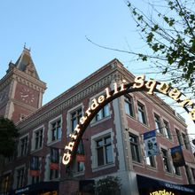 Halloween Fun at Ghirardelli Square on October 30