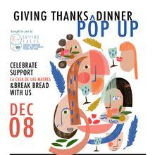 Giving Thanks Pop Up Dinner