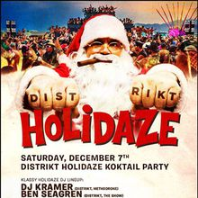 DISTRIKT HOLIDAZE San Francisco, the KOKTAIL edition