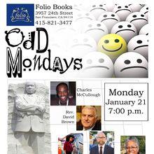 Odd Mondays: Celebrating Dr. Martin Luther King, Jr.
