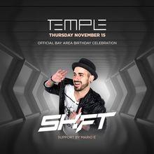 Temple Thursday feat. DJ Shift Birthday Celebration