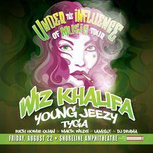 Wiz Khalifa w/ Young Jeezy, Tyga, Rich Homie Quan, Iamsu & more