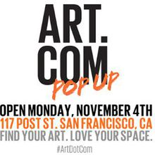 Art.com Pop-Up Store in Union Square