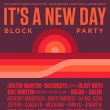 IT'S A NEW DAY - BLOCK PARTY