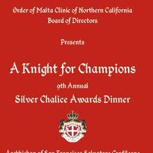 9th Annual Silver Chalice Awards Dinner