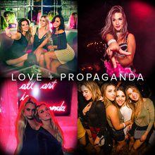 DJ SPIDER at Love + Propaganda (series group)