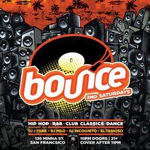 BOUNCE 2nd Saturdays