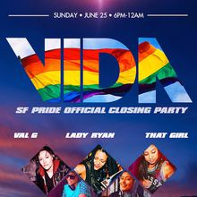 HOLY COW OFFICIAL PRIDE AFTER PARTY VIDA