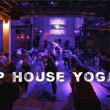Deep House Yoga Public Works with Rebecca Rogers & Symonne