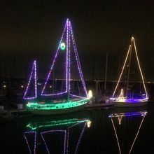 Coyote Point Marina Lighted Boat Parade