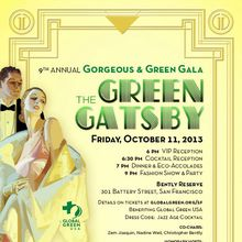 Gorgeous and Green Gala