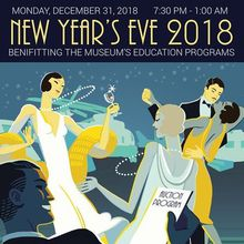 New Year's Eve Fundraising BIG BAND DANCE Gala 2018