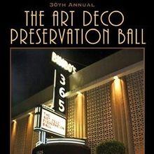 Art Deco Preservation Ball