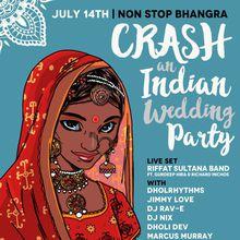 """Non Stop Bhangra """"Crash An Indian Wedding Party"""""""