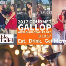 2017 Diablo Ballet Gourmet Gallop food & wine walk