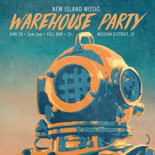 New Island Music | Warehouse Party