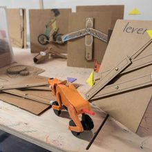 Curious Contraptions: Automata, linkages, and cardboard - January Bay Area Maker Educator Meetup