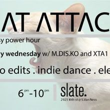 Cat Attack Power Hour (Wednesdays 6-10 pm)