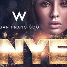 W San Francisco New Years 2017