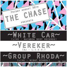 The Chase: White Car, Vereker, Group Rhoda