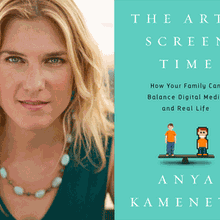 ANYA KAMENETZ at Books Inc. Santa Clara