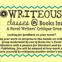 Writeous Presents A Novel Writers' Critique Group