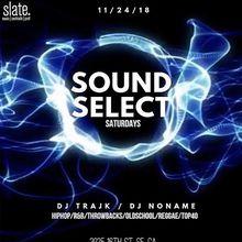 Sound Select Saturdays