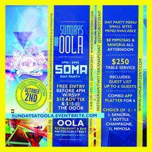 Sundays @ Oola SOMA Day Party (Every Sunday)