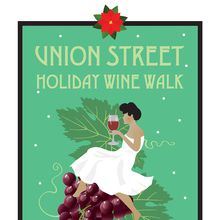 Union Street Holiday Wine Walk 2016