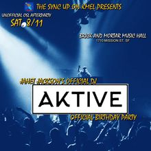 UNOFFICIAL OSL AFTERPARTY WITH DJ AKTIVE - JANET JACKSON'S OFFICIAL DJ