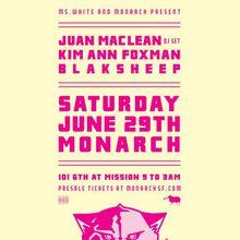 Juan MacLean DJ Set, Kim Ann Foxman