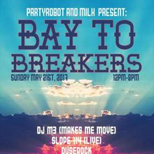 PartyRobot and the Milk Bar present BAY TO BREAKERS 2017