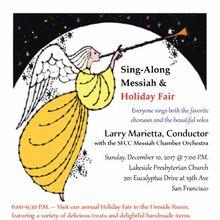 Messiah Sing-Along & Holiday Fair