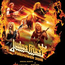 Judas Priest with Saxon & Black Star Riders - Firepower 2018 Tour
