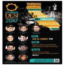 Desi Comedy Fest - San Francisco Sunday August 20