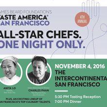 James Beard Taste America SF
