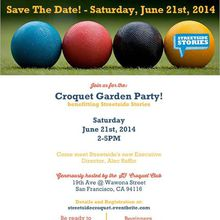 Croquet Garden Party!