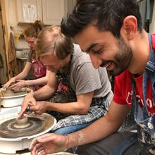 """Team Building Pottery Adventure - """"Claycation"""""""