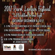 15th Annual Parol Lantern Festival & Parade