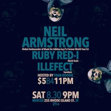 Neil Armstrong x Ruby Red-I x Illefect