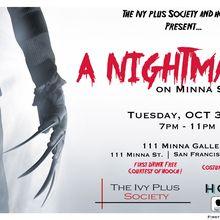 A Nightmare on Minna Street: Halloween Party