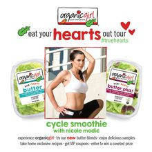 Eat Your Hearts Out Tour San Francisco Stop: Spin Your Own Smoothie with Nicole Modic!