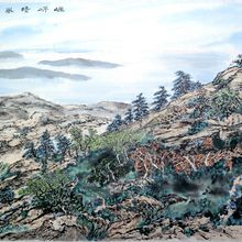 """Sky, Mountain & Waterscape"" Kam Cheung Mok Chinese Paintings Exhibition Opening Reception"